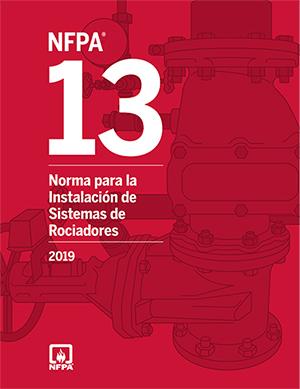NFPA 13: Norma para la Instalación de Sistemas de Rociadores