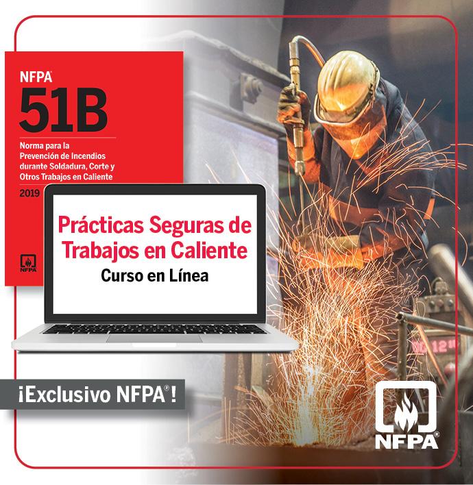 Herramientas NFPA 51B para trabajos en caliente seguros