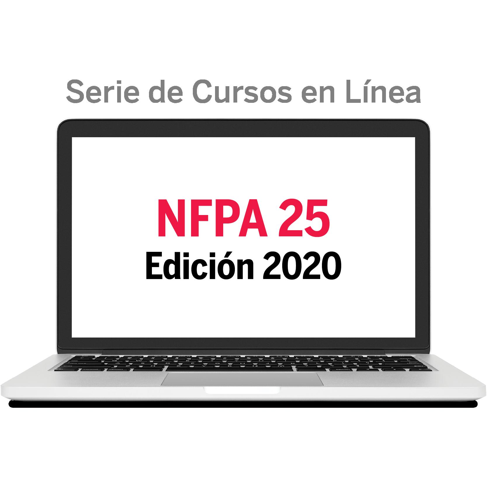 NFPA 25 - cursos en línea en español